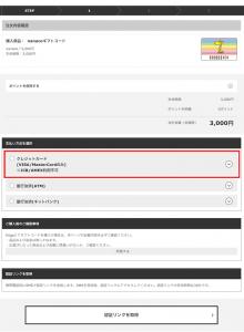 Kiigo_クレジットカード情報記入